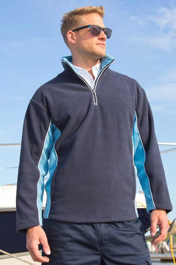 Flis Result Tech3™ Sport Fleece 1/4 Zip Sweater
