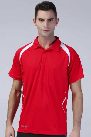 Polo majica kratek rokav Spiro Team Spirit Polo
