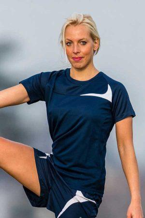 Ženska športna majica kratek rokav Spiro Spiro Ladies' Dash Training Shirt