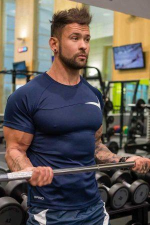 Športna majica kratek rokav Spiro Men's Training Shirt