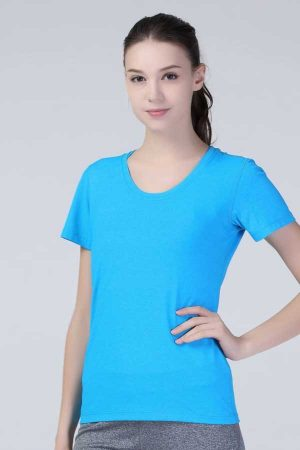 Ženska športna majica kratek rokav Spiro Fitness Women's Shiny Marl T-Shirt