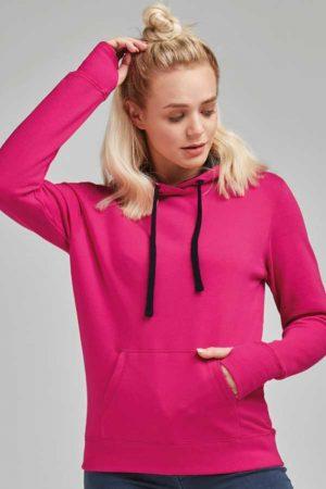 Ženski pulover SG Ladies' Contrast Hoodie