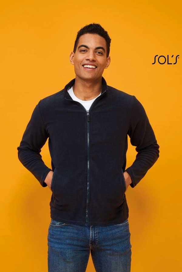 Flis Sol's Norman Men – Plain Fleece Jacket