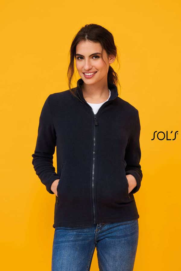 Ženski flis Sol's Norman Women – Plain Fleece Jacket