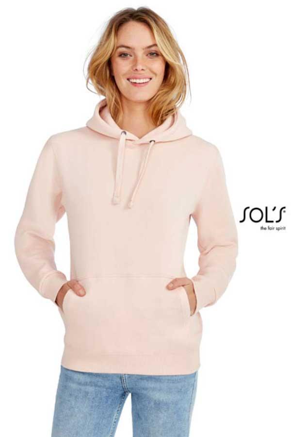 Ženski pulover Sol's Spencer Women - Hooded Sweatshirt