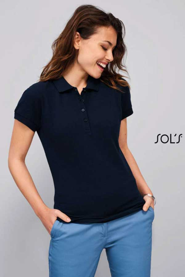 Polo majica kratek rokav Sol's Passion Women's Polo Shirt