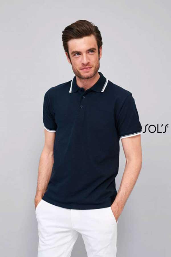Polo majica kratek rokav Sol's Practice Men's Polo Shirt