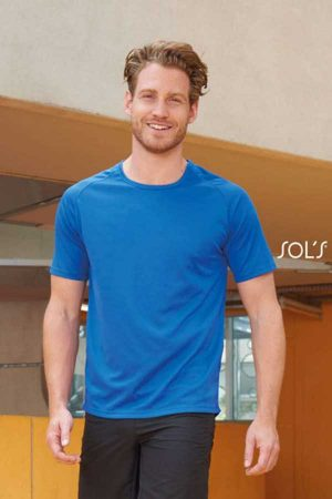 Športna majica kratek rokav Sol's Sporty – Raglan Sleeved T-Shirt
