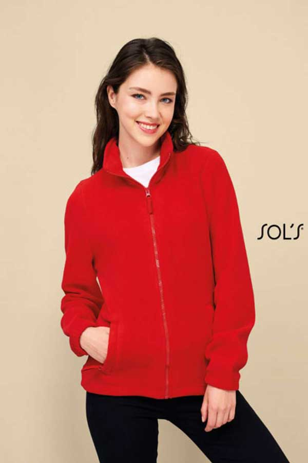 Ženski flis Sol's North Women – Zipped Fleece Jacket