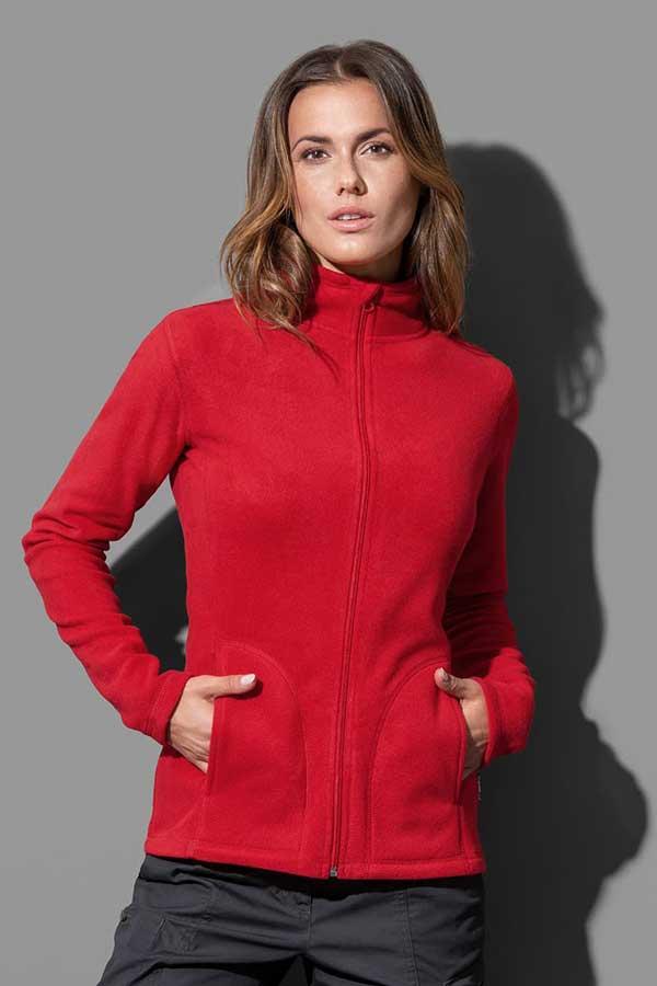 Ženski flis Stedman Fleece Jacket Women