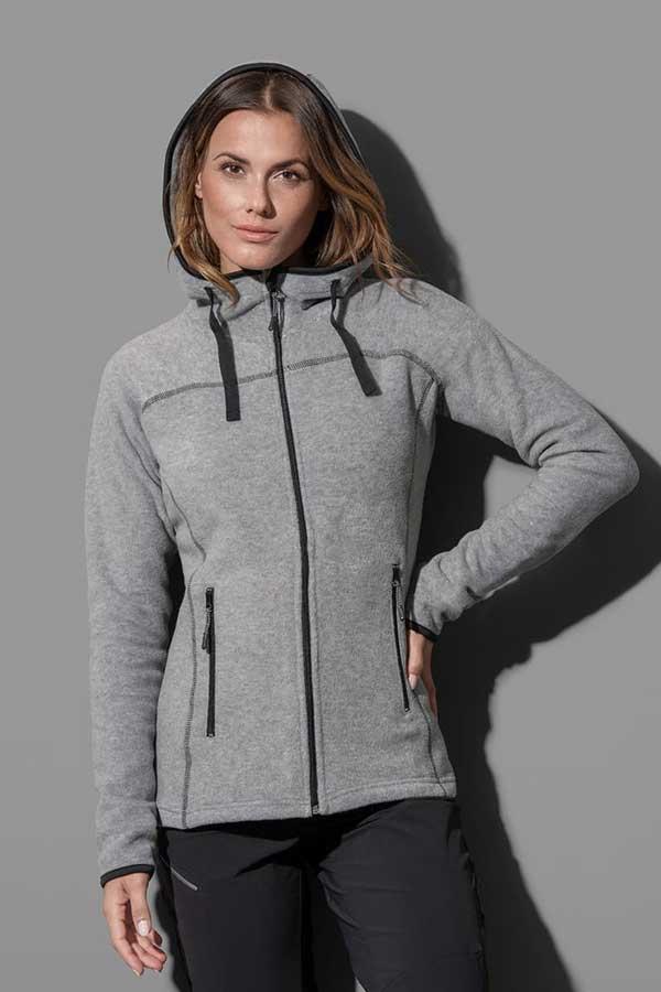 Ženski flis Stedman Power Fleece Jacket Women