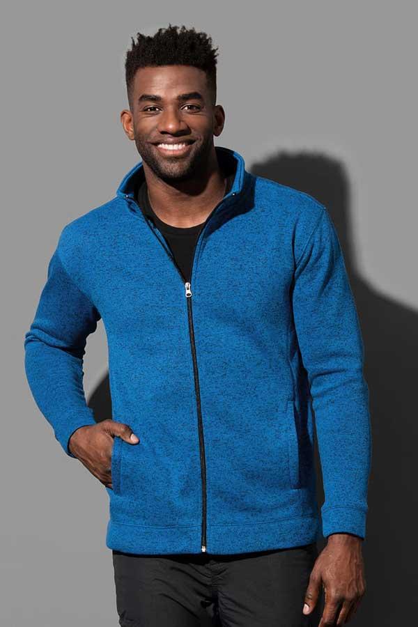 Flis Stedman Knit Fleece Jacket