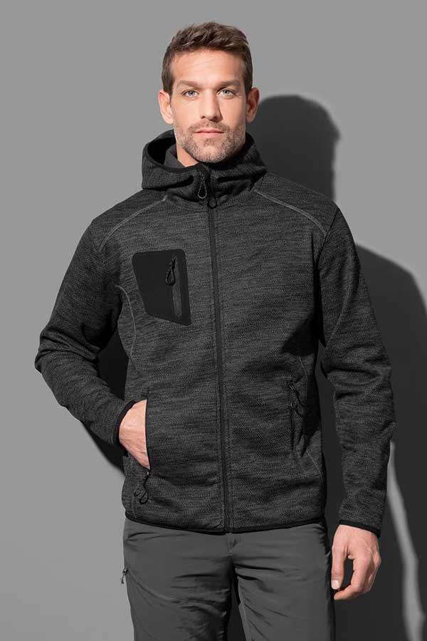 Flis Stedman Recycled Fleece Jacket Hero Men