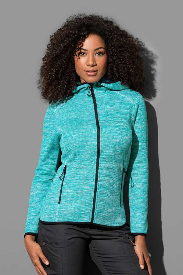 Ženski flis Stedman Recycled Fleece Jacket Hero Women
