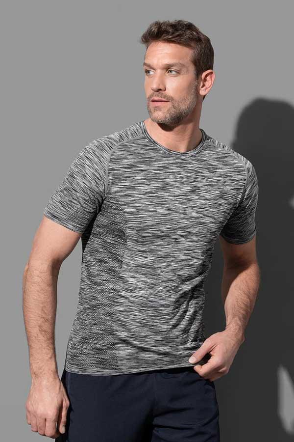 Športna majica kratek rokav Stedman Seamless Raglan T-Shirt