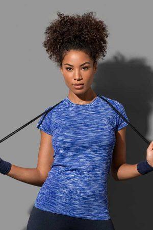 Ženska športna majica kratek rokav Stedman Seamless Raglan T-Shirt Women