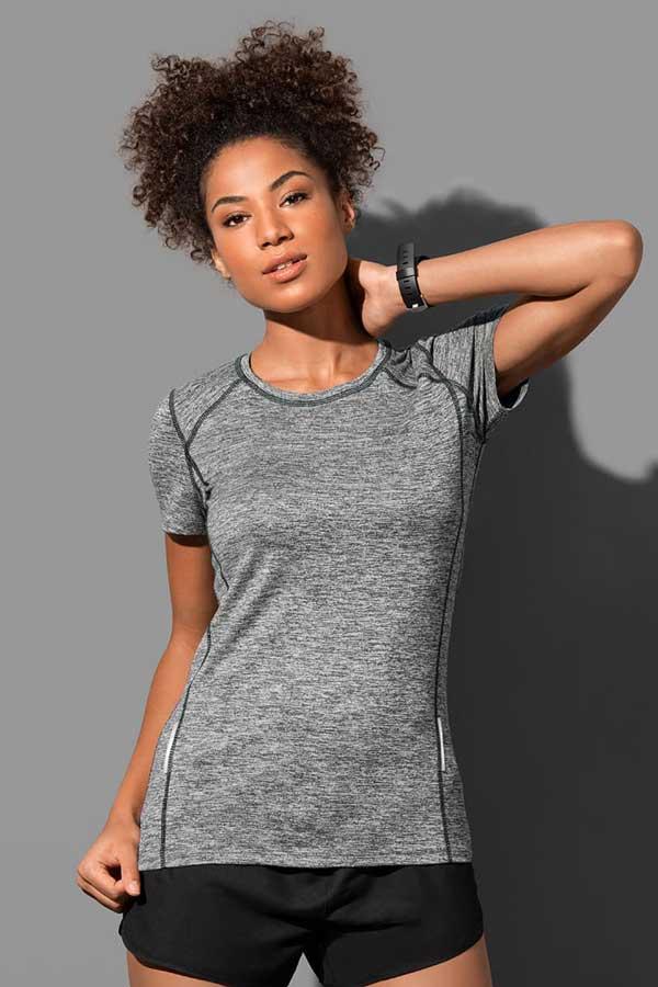 Ženska športna majica kratek rokav Stedman Recycled Sports-T Reflect Women