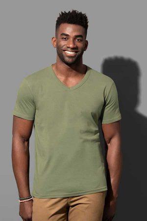 Majica kratek rokav Stedman Ben V-Neck