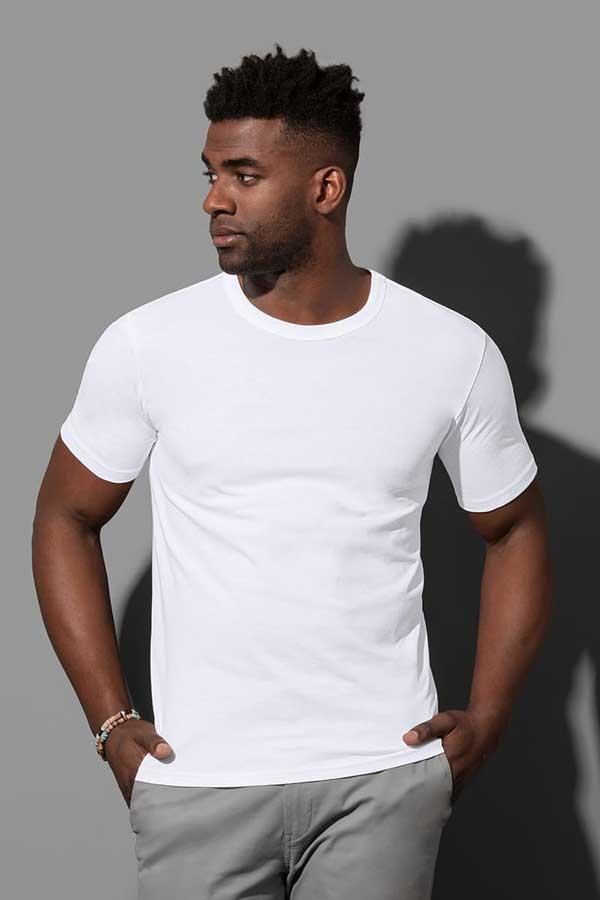 Majica kratek rokav Stedman Morgan Crew Neck