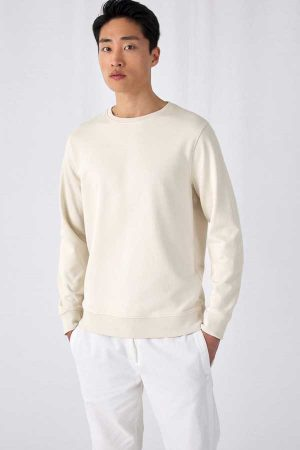 Pulover B&C Organic Crew Neck French Terry