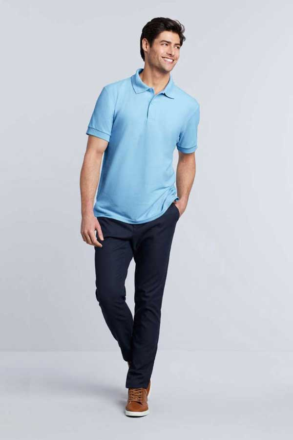 Polo majica kratek rokav Gildan Dryblend® Adult Double Pique Polo