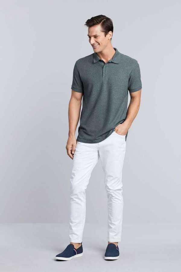Polo majica kratek rokav Gildan Premium Cotton® Adult Double Pique Polo