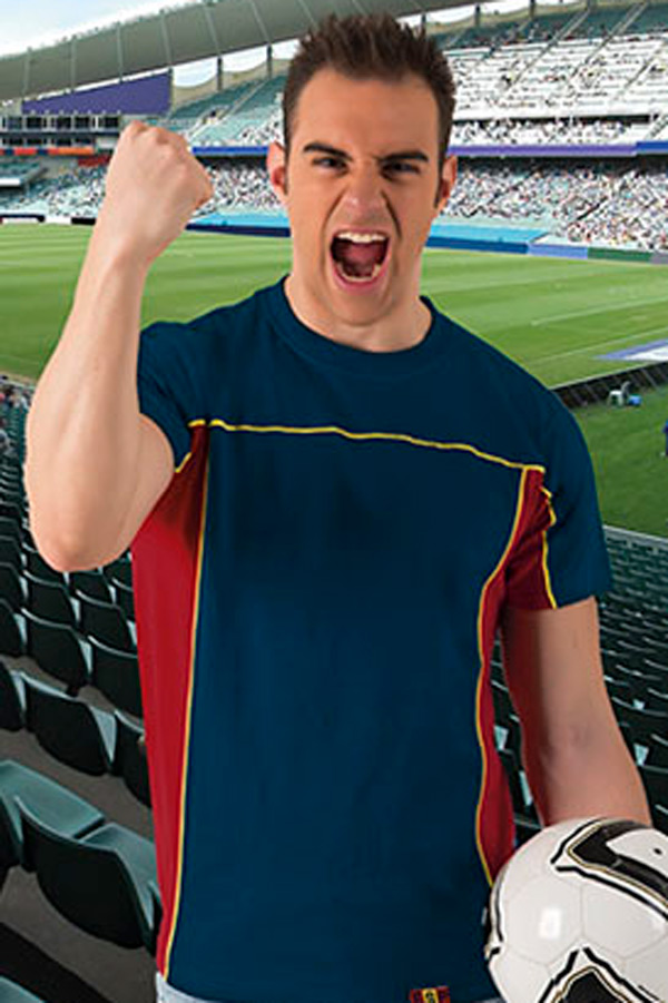 Majica kratek rokav Valento Typed T-Shirt Furia