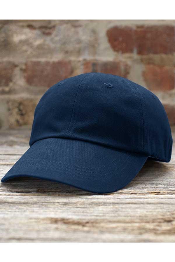 Kapa Anvil Solid Low-Profile Brushed Twill Cap
