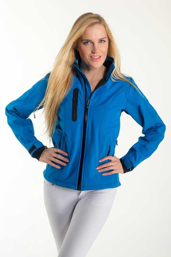 Ženski softshell Eurowear Ladies Softshell Jacket