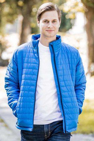 Prehodna jakna Eurowear Moška Prešita Jakna
