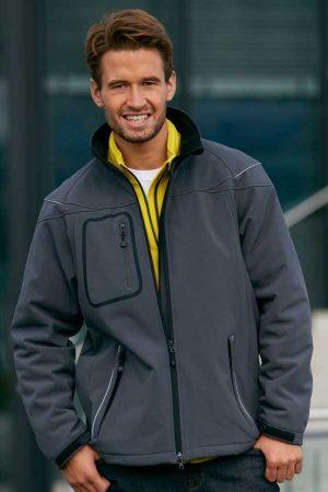 Zimska jakna J&N Men's Winter Softshell Jacket