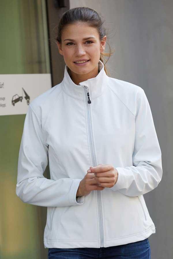 Ženska softshell J&N Ladies' 3-Layer Softshell Jacket