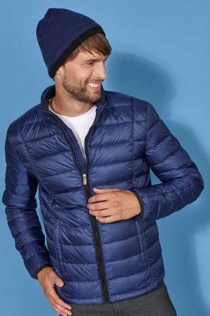 Prehodna jakna J&N Men's Quilted Down Jacket
