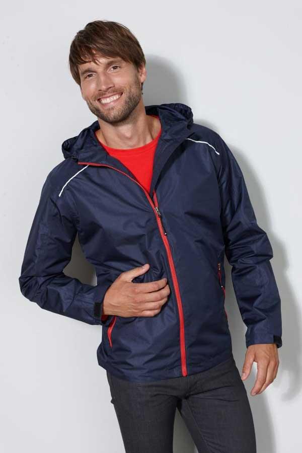 Prehodna jakna J&N Men's Rain Jacket