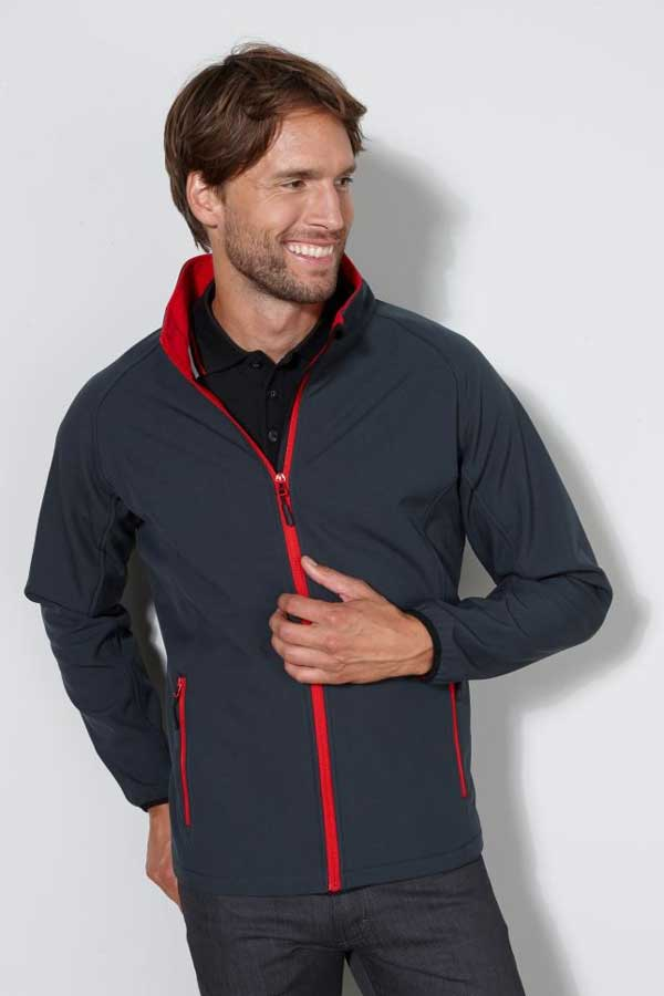 Softshell J&N Men's Promo Softshell Jacket