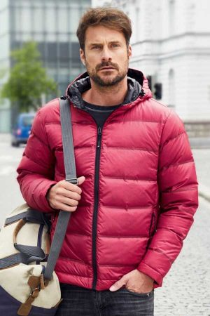 Zimska jakna J&N Men's Hooded Down Jacket