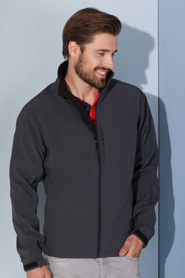 Softshell J&N Men's Softshell Jacket
