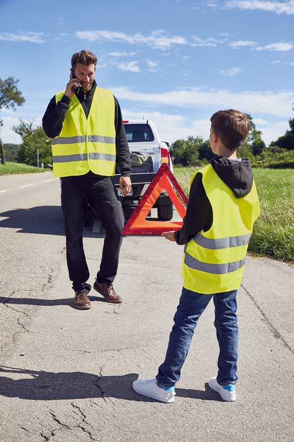 Varnostni telovnik J&N Safety Vest Adults