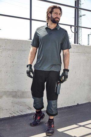Delovne kratke hlače J&N Workwear 3/4 Pants - STRONG