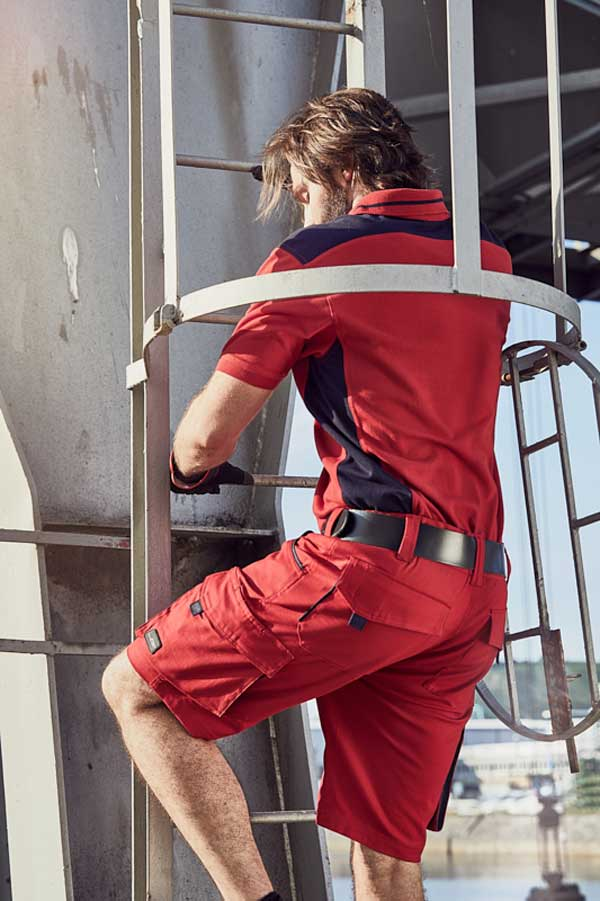Delovne bermuda hlače J&N Workwear Bermudas - COLOR