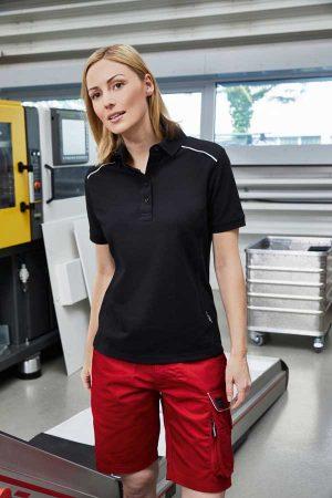 Delovne bermuda hlače J&N Workwear Bermudas - SOLID