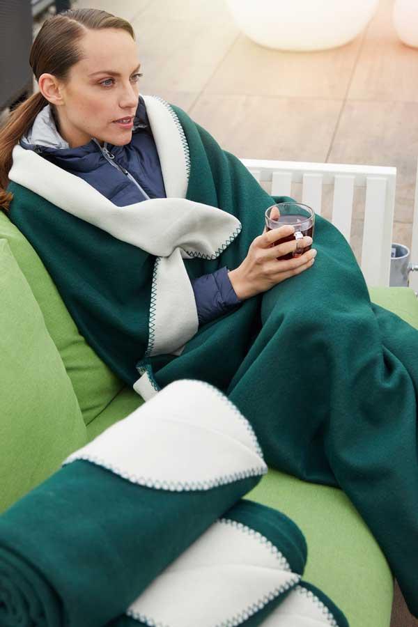 Odeja J&N Bonded Fleece Blanket