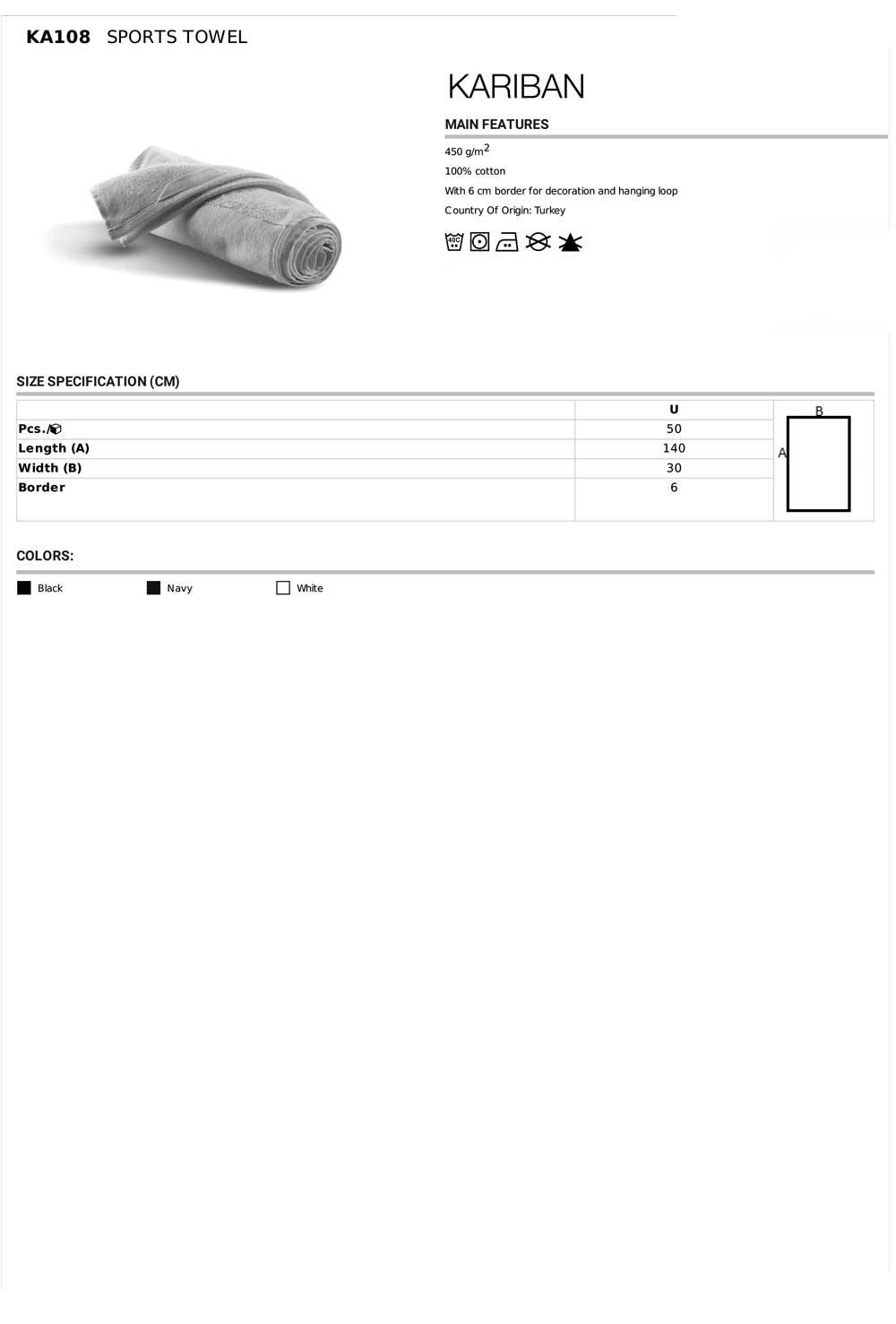 KA108 Specifikacije