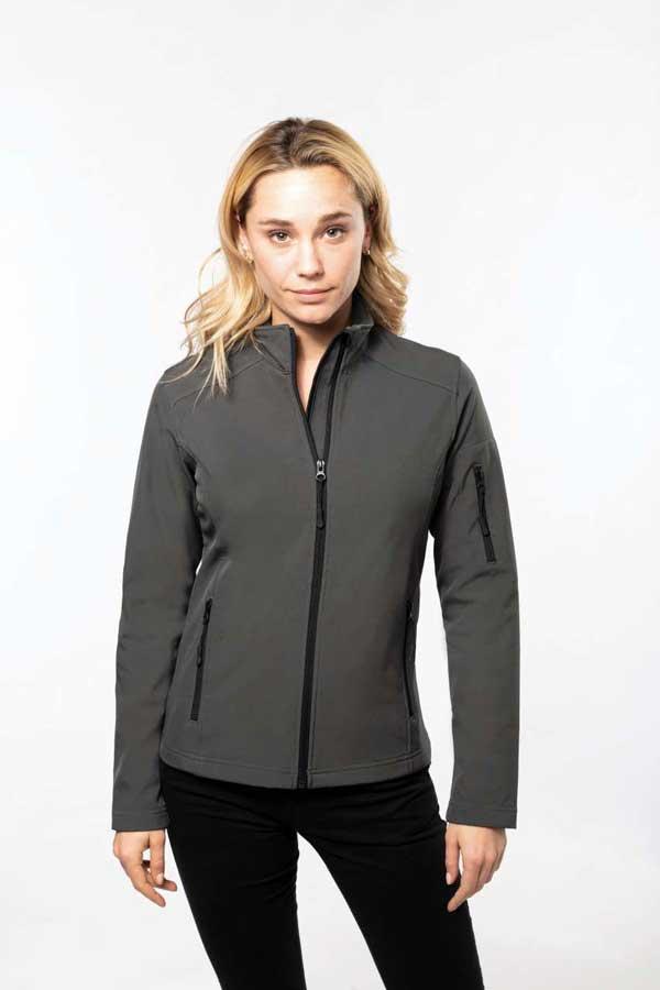 Ženski softshell Kariban Ladies' Softshell Jacket
