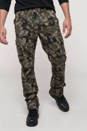 Delovne hlače Kariban Men's Multipocket Trousers
