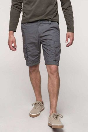 Delovne kratke hlače Kariban Men's Lightweight Multipocket Bermuda Shorts