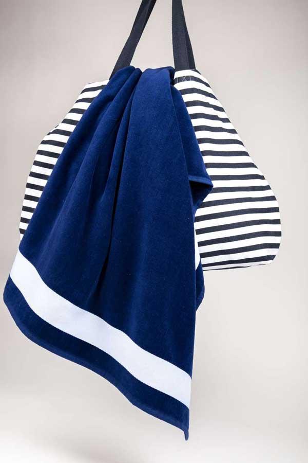Brisača Olima Velour Beach Towel