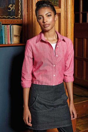 Predpasnik Premier Jeans Stitch Denim Waist Apron