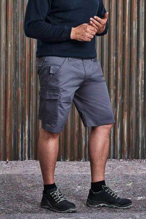 Delovne kratke hlače Russell Twill Workwear Shorts