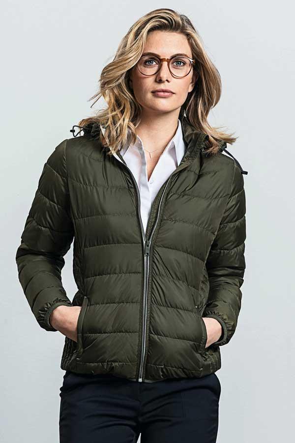 Ženska prehodna jakna Russell Ladies' Hooded Nano Jacket